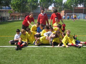 El santcugatenc Albert Díaz, campió de la Segona infantil amb el CP Sarrià