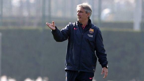 Jordi Vinyals tanca la seva etapa al FC Barcelona / Font: Fcbarcelona.es