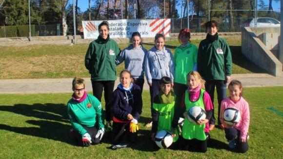 La Federació Esportiva Catalana de Paralítics Cerebrals aposta pel futbol femení / Font: FECPC