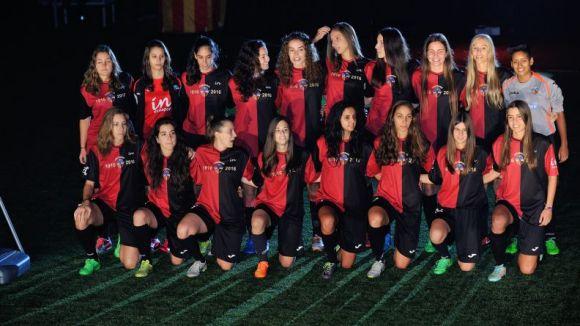 El Sant Cugat Esport femení supera el Vilafranca i és líder en solitari del grup