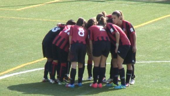 El SantCu femení domina el Camp Clar però acaba perdent dos punts en els últims minuts