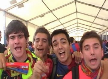 Cugat.cat amb l'expedició santcugatenca a la final de la Copa del Rei