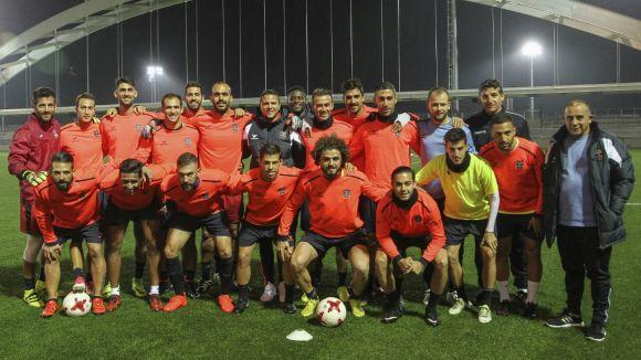 El Formentera, amb el santcugatenc Gabri, fa història després d'eliminar l'Athletic de Bilbao a la Copa