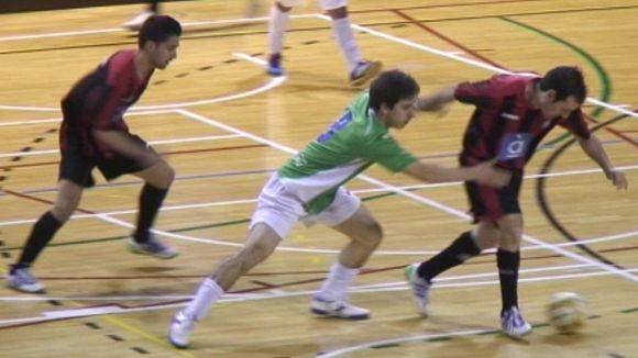 El Futbol Sala Sant Cugat no es deixa sorprendre i venç un Lloret guerrer