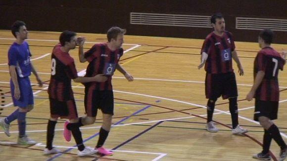 El Futbol Sala Sant Cugat tira d'ofici i remunta a la pista del Manlleu