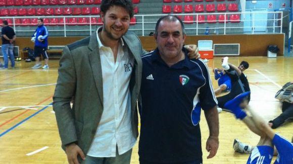Rozas debutarà a la Divisió d'Honor de futbol sala com a segon entrenador del Marfil