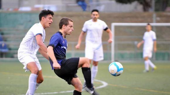 El Junior, a pels tres punts a Sant Boi / Font: Xavi Riera