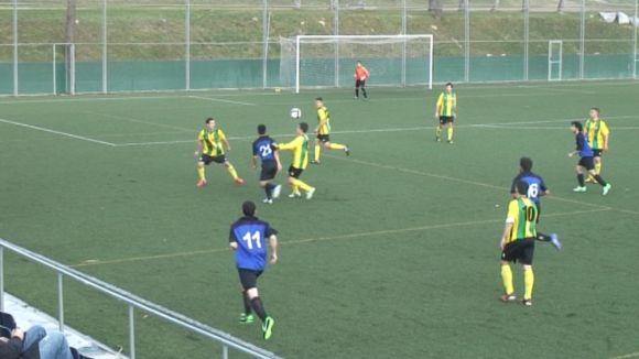 El Junior iguala davant el Begues en un matx sense encert de cara a gol