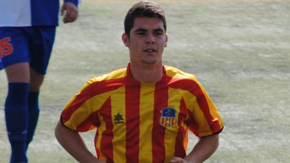 Oriol Fernández debuta en partit amistós amb el primer equip del Sant Andreu