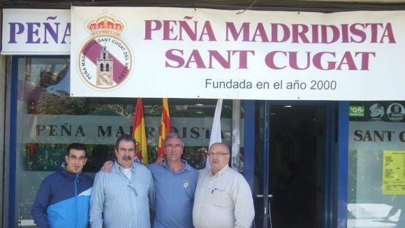 La Penya Madridista Sant Cugat celebra els 14 anys amb una quarantena de socis
