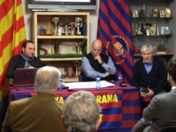 La Penya Blaugrana homenatjarà els socis que portin més d'un quart de segle a l'entitat