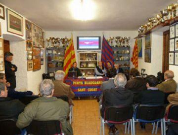 La Penya Blaugrana Sant Cugat tanca l'exercici anterior amb superàvit