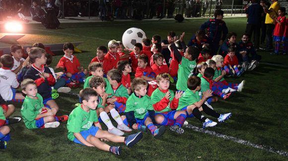 La Penya Blaugrana Sant Cugat reivindica millores a Can Magí