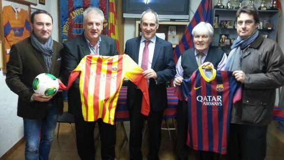 Gest solidari de la Penya Blaugrana amb la Fundació Federica Cerdà