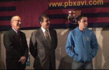Xavi Hernández: 'És un orgull tenir una penya pròpia'