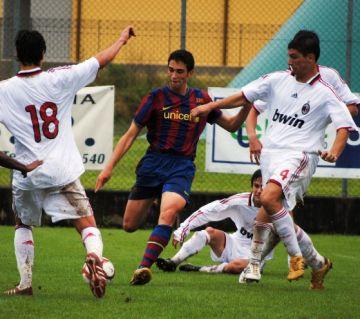 Primer triomf de Calvet amb la selecció catalana sub18, que té peu i mig a la següent fase