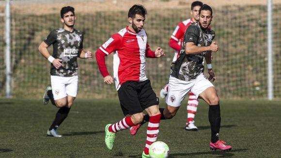 Imatge del partit entre el Rubí i el Sabadell / Font: Fcf.cat