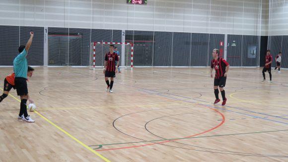 El Futbol Sala Sant Cugat ha sumat el primer triomf del 2018 a la pista del Vallseca