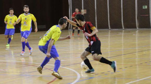 El Futbol Sala Sant Cugat cau davant el Sang Culé i s'acomiada de l'ascens