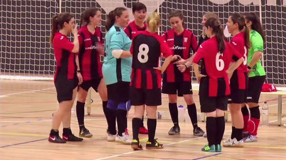 El Futbol Sala Sant Cugat femení és equip de Primera Catalana / Font: Cedida