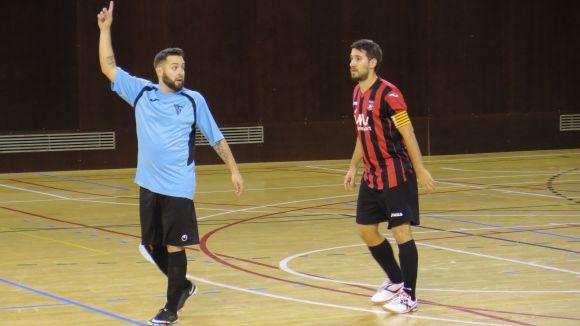 El Futbol Sala Sant Cugat s'estavella contra la Fundació Grama en l'últim partit de l'equip al pav 3