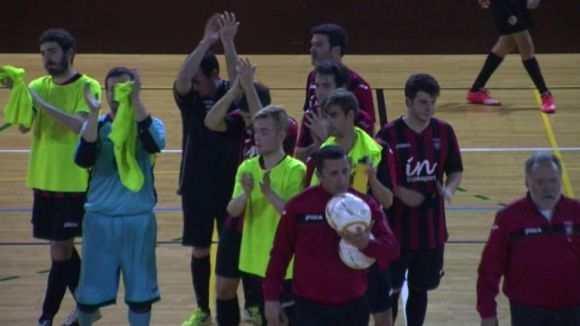 El FS Sant Cugat torna a pagar car els seus errors i cau davant l'Alheñá