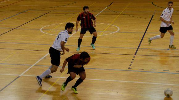Victòria plàcida del Futbol Sala Sant Cugat contra el cuer del grup, l'Alheña