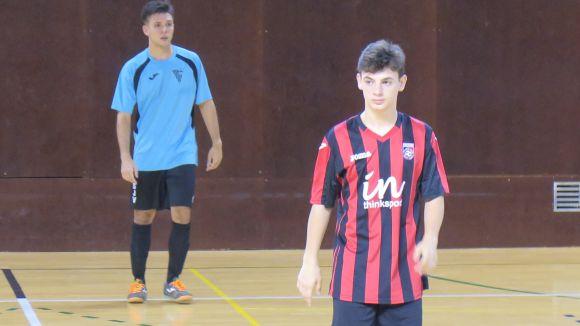 El Futbol Sala Sant Cugat tanca la temporada a la pista de l'Arrels amb la satisfacció de la permanència
