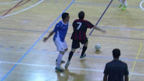 El Futbol Sala Sant Cugat guanya un matx amb un final molt ajustat
