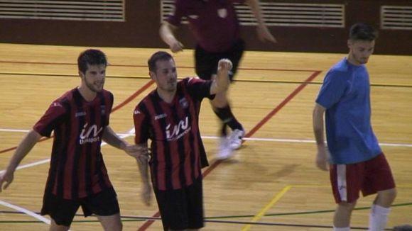 El Futbol Sala Sant Cugat surt del descens després de superar un rival directe, el Rubí