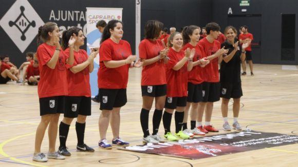 L'equip femení del Futbol Sala Sant Cugat / Font: FSSC