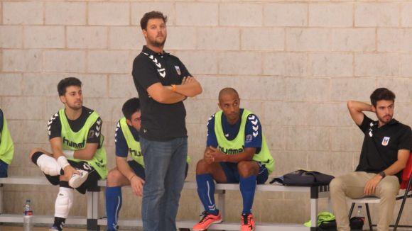 Jordi Rozas, entrenador de l'Olímpyc Floresta, en una imatge d'aquesta temporada