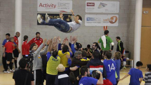 L'Olímpyc Floresta regala als seus aficionats la permanència a Segona Divisió B