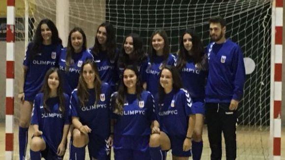 L'equip femení de l'Olímpyc Floresta ha pujat a Primera Catalana
