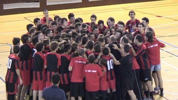 Presentats els 11 equips del Futbol Sala Sant Cugat