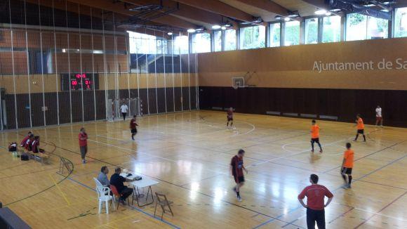 Ponce i Martínez entrenaran amb la selecció catalana cadet de futbol sala