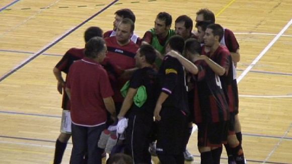 El Futbol Sala San Cugat suma una victòria i és líder