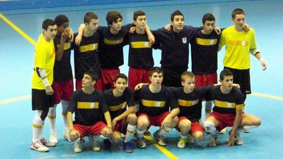 Navarro i Rio queden campions de Catalunya de futbol sala