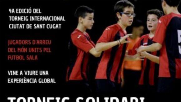 El torneig internacional del Futbol Sala Sant Cugat aposta per la solidaritat