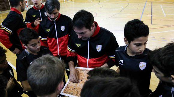 El Futbol Sala Sant Cugat ja escalfa motors per a un nou torneig internacional de base
