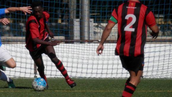 El Sant Cugat Esport respira després d'un triomf vital per la permanència davant la FP Hermes