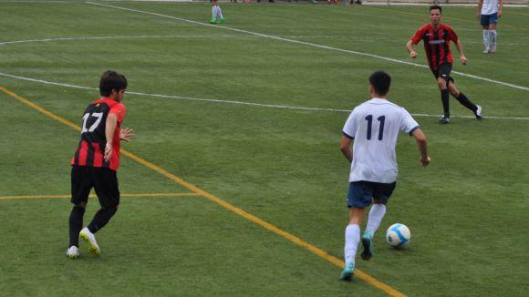 El Sant Cugat Esport supera l'Espluguenc i torna a guanyar després de cinc jornades