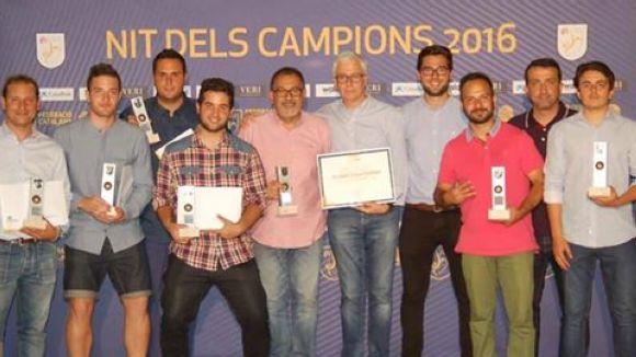 SantCu, Penya Blaugrana i Junior, guardonats a la Nit dels Campions de la federació