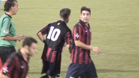 Adrián Cáceres, jove talent per al mig del camp del SantCu