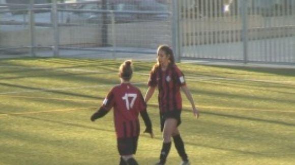 Un SantCu femení molt combatiu perd a l'últim minut contra l'Espanyol C