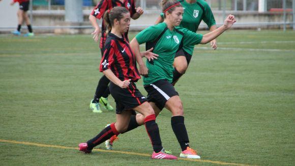 El Sant Cugat Esport femení aconsegueix la primera victòria com a local