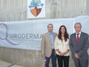 El Sant Cugat Esport firma amb Quiroderma per dos anys