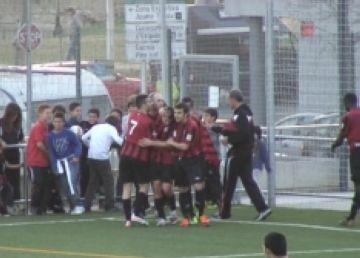 El SantCu guanya el Sant Ildefons amb un penal als instants finals del partit i és segon