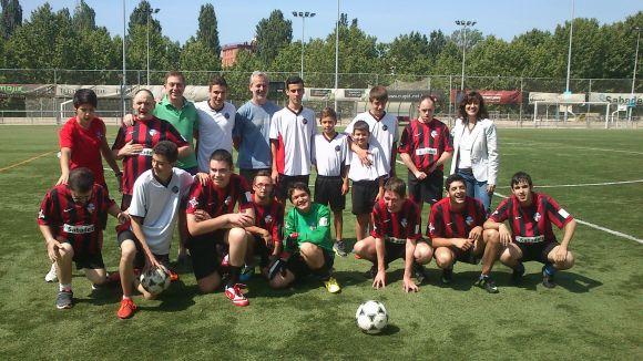 SantCu-ASDI i Sant Cugat Esport empaten en un partit festiu