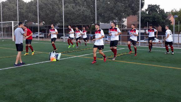 El Sant Cugat FC B és l'únic dels quatre santcugatencs de Tercera Catalana que guanya